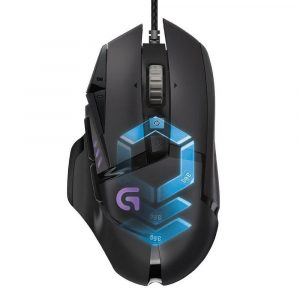Logitech G502 RGB Proteus Spectrum Gaming Mouse Black