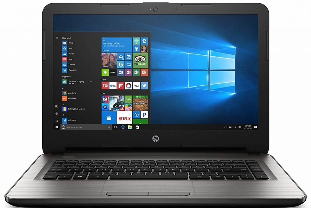 Ordinateur portable HP 14-AN013NR pour Senior