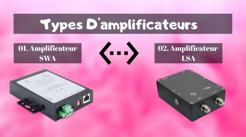 Types d'amplificateurs