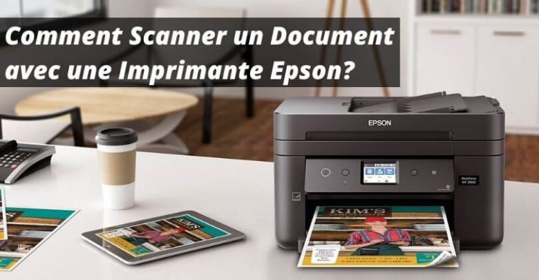 how to scan a document with an epson printer