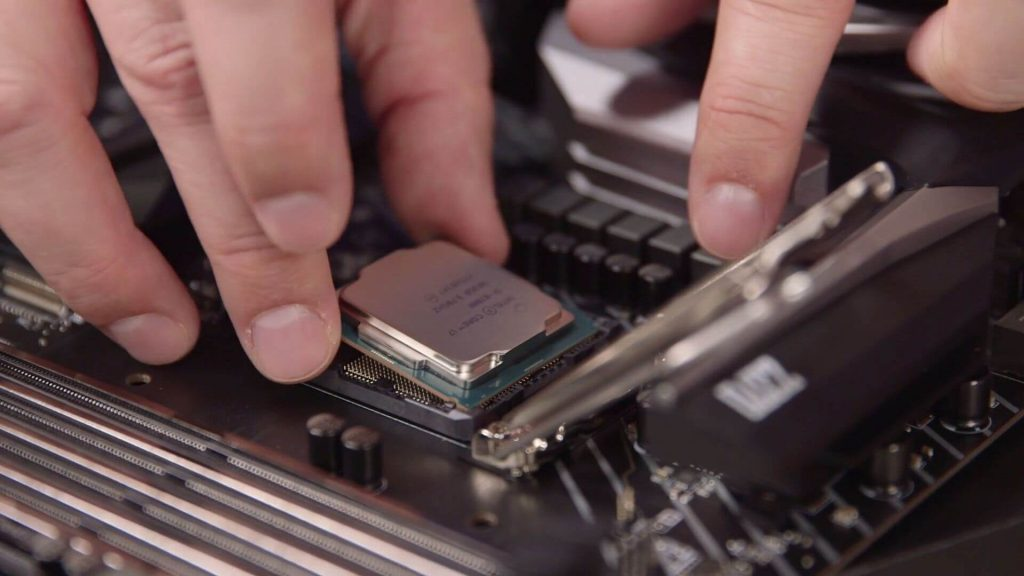 1. Install the CPU