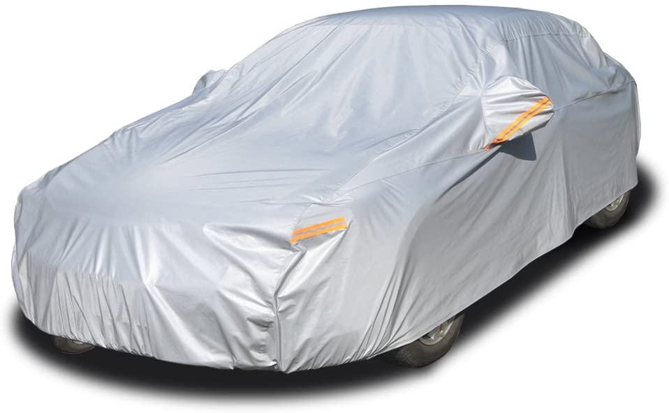 5. Kayme Four Layers Waterproof All Weather Car Cover