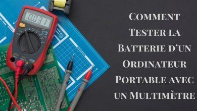 Comment Tester la Batterie d'un Ordinateur Portable avec un Multimètre